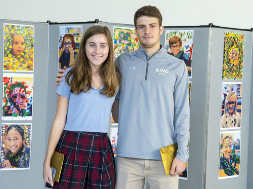 Louise Dill '19 and Justin Zide '19 recognized for their creative writing in French essays