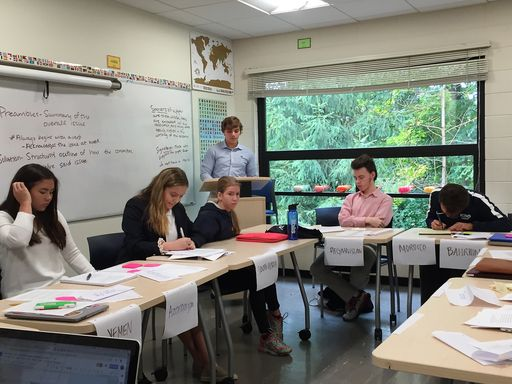 King Students Lead Annual Model United Nations Training Conference