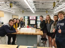 AP Psychology students explore sensation and perception in new Innovation Lab