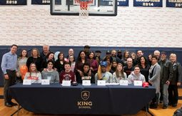 King School NCAA Division I And Division II College Signing And Recognition Ceremony