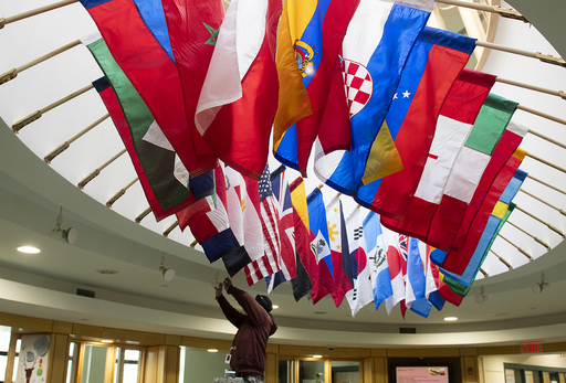 King Celebrates Culturally Diverse Community with Campus-Wide Flag Installation