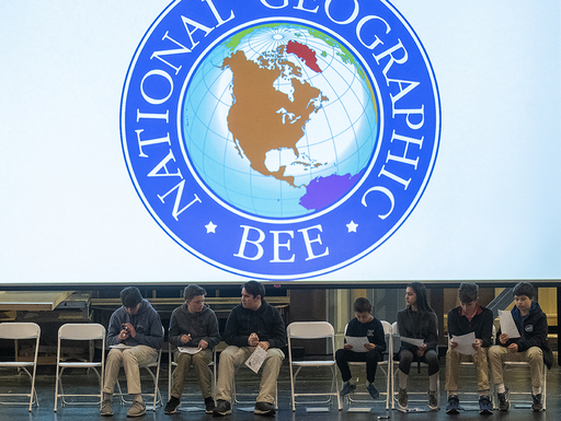 Geography Bee tests students' knowledge and ignites grade-level excitement