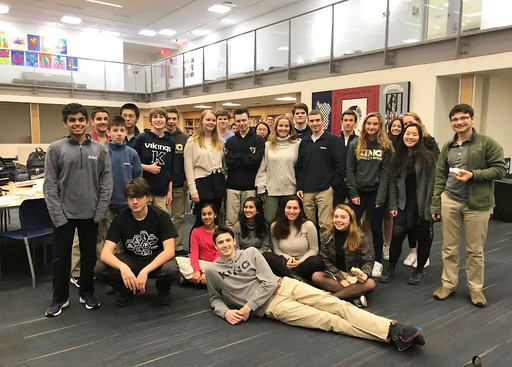 Math Team success includes a perfect score for Cam Raker '19 and a second-place team finish
