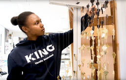 My King Story: Alonna Christy '19 shares her passion for art and athletics