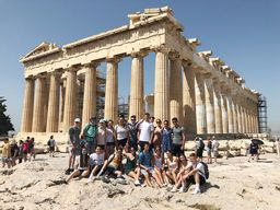 Final Day: King students continue their journey of learning and discovery in Greece
