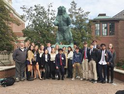 US students collaborate, debate, and succeed at the Brown Model United Nations Conference