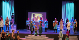 MS students take center stage in ''The Shoes of the Gods""