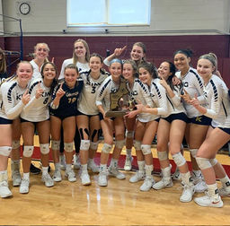Vikings Volleyball sweeps the match for NEPSAC Championship