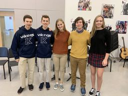King students accepted to perform in the Western Regional Music Festival