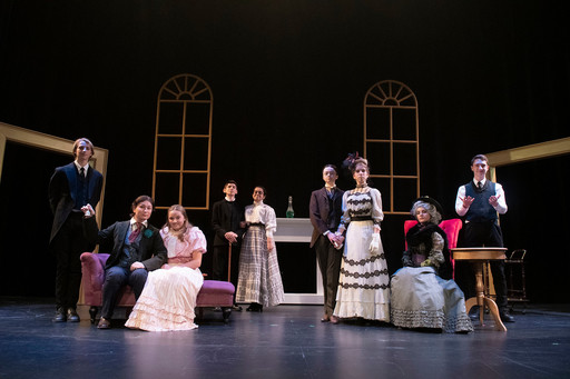 US actors commit and adapt to 'The Importance of Being Earnest'