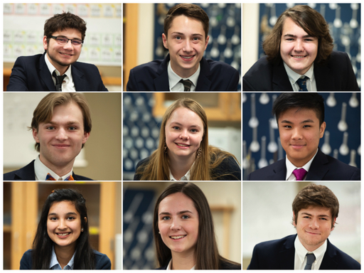 Nine US students are accepted into the 2019-2020 ASPIRE program