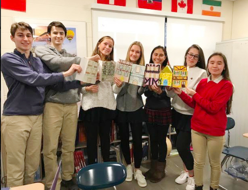 Research-based project has US students imagining and constructing a life in France
