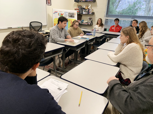 US students engage in dialogue and debate on the nature of philosophy