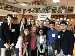 ASPIRE Students Shine as King Competes in its First Ever Statewide Science Research Competition!
