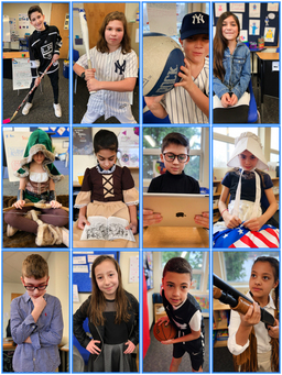 Historical figures come to life in the Grade 4 Living Wax Museum