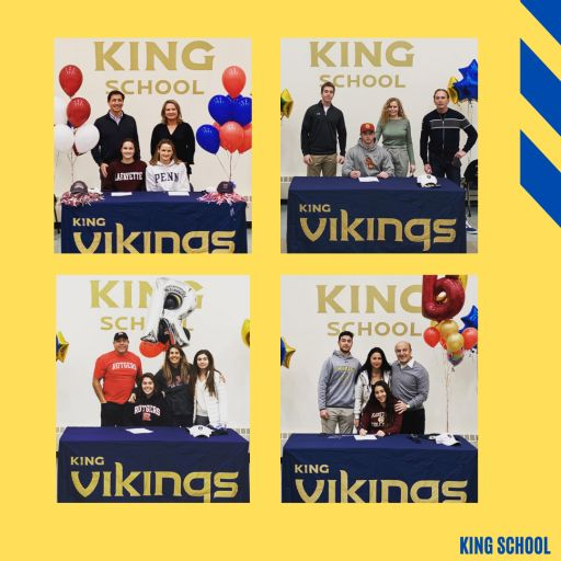 Five King School Seniors from Class of 2021 Honored at D1 College Athlete Signing Day
