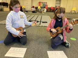 Lower School students grow as tuneful, beatful, artful, and musically literate musicians