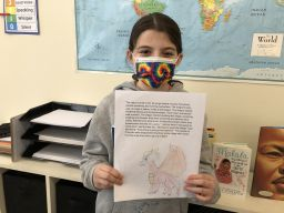 Grade 5 King School students discover ancient China