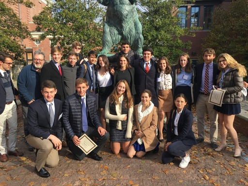 US Students Receive Awards at Brown Model United Nations Conference