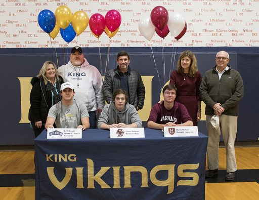 Grade 12 student-athletes sign to D1 Athletics Programs