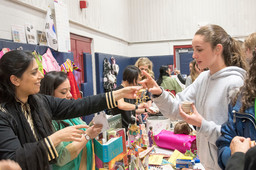 Students Travel the Globe at King's Multicultural Fair