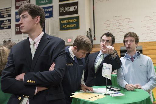 Investment Club leaders control the market in the JA Stock Market Challenge