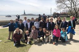 Grade 3 wraps up study of immigration by way of Ellis Island