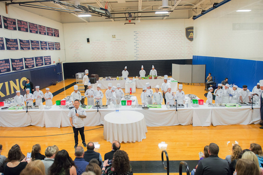 [Video] Grade 6 students collaborate and overcome obstacles in Cooking Competition