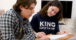 My King Story: Sarah Kadlick '21 and Nico Camacho '21