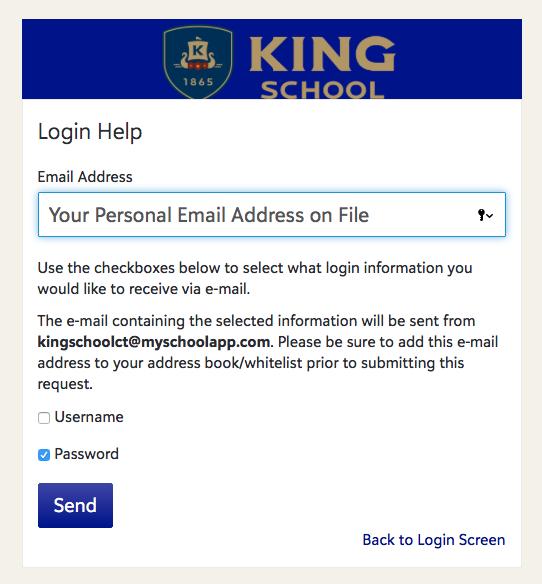 Website FAQ - King School