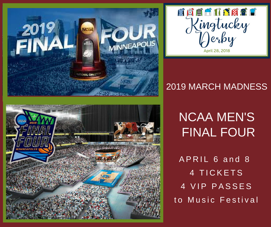 NCAA Men's Final Four Basketball Tickets