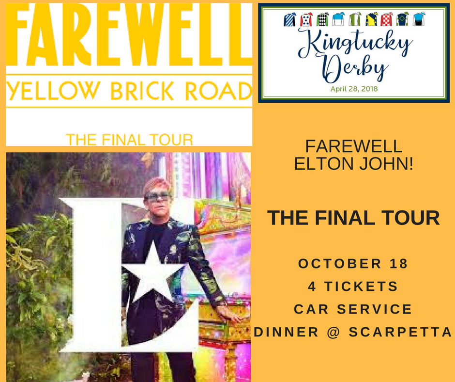 4 Tickets to Elton John Farewell Yellow Brick Road Tour at MSG