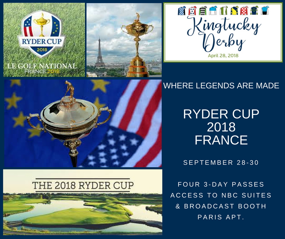 Ryder Cup golf tournament near Paris, France