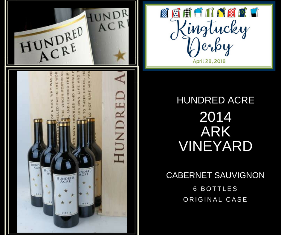 "2014 Hundred Acre ""Ark Vineyard"" Cabernet Sauvignon"