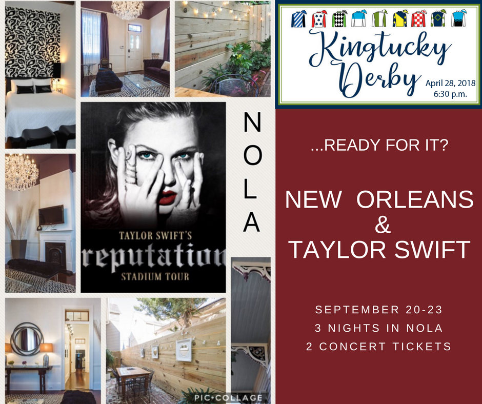 New Orleans and Taylor Swift Concert (Sept. 20-23)