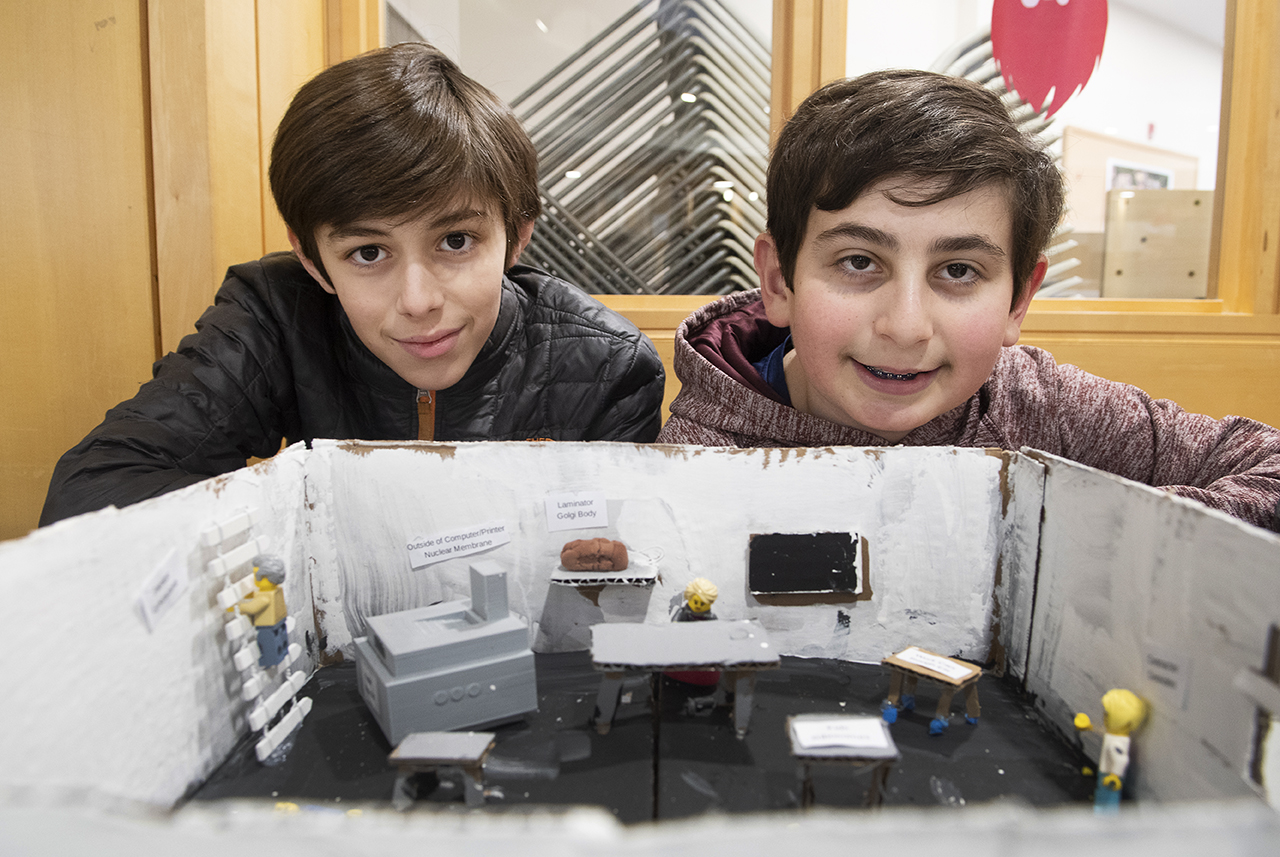 Grade 7 Gets Creative In Their Cell Analogy Projects Post