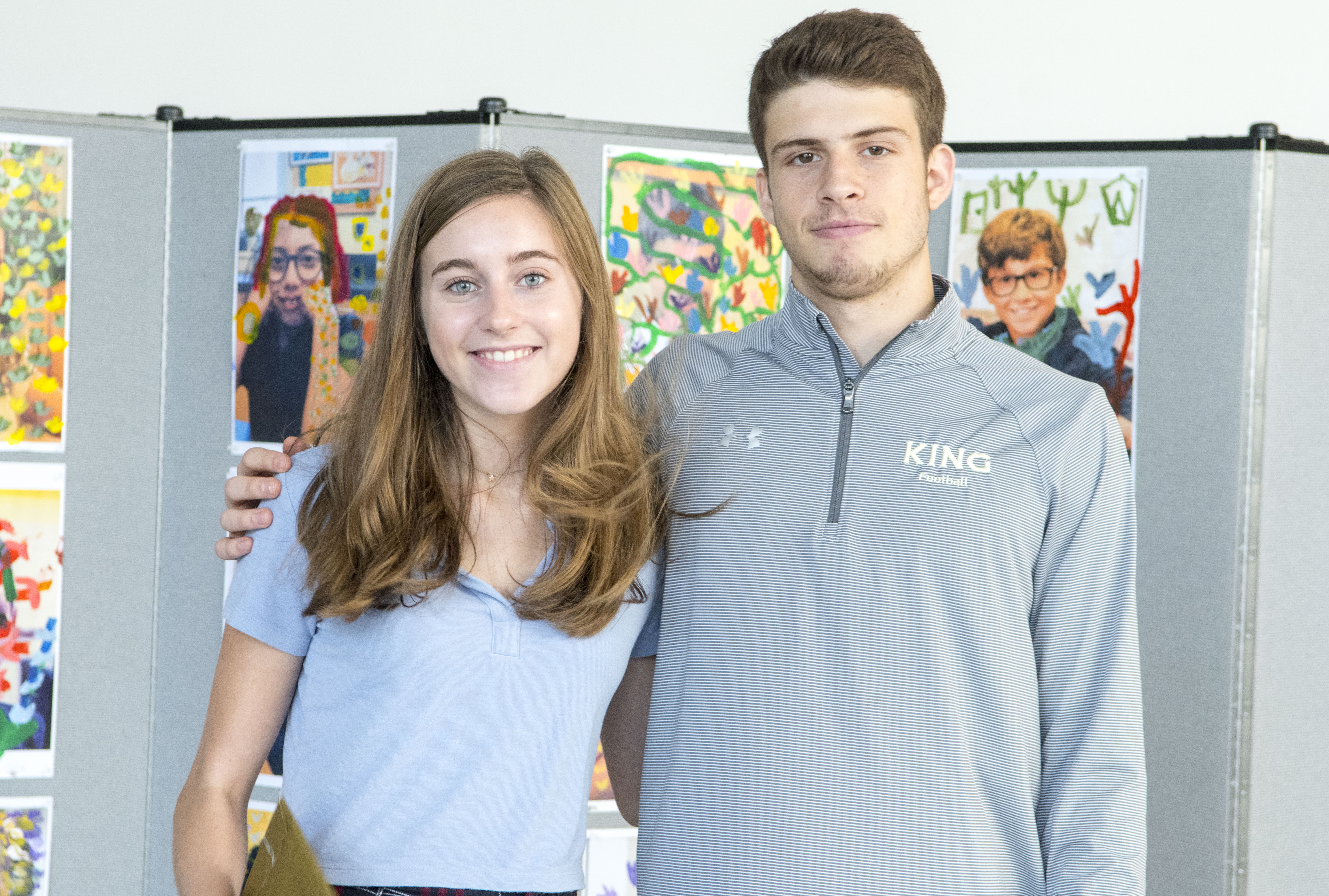 Essay Of Science Seniors Louise Dill And Justin Zide Were Honored At An Assembly Last Week  For Their Recent Awardwinning French Essays Last Spring Upper School  Advanced  What Is The Thesis Of An Essay also High School Personal Statement Essay Examples Louise Dill  And Justin Zide  Recognized For Their Creative  Essay Writing On Newspaper