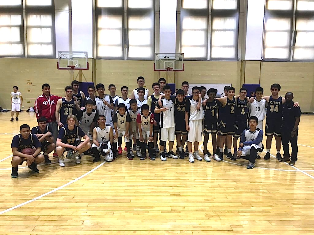 King School Basketball Embarks On China Trip With Exhibition